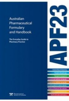 Australian pharmaceutical formulary and handbook apf23 australian pharmaceutical formulary and handbook apf23 fandeluxe Image collections