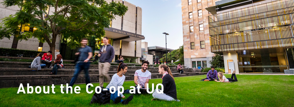 about the co-op at uq