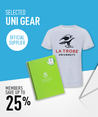25% off Uni Gear