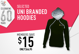 Uni Branded Hoodies