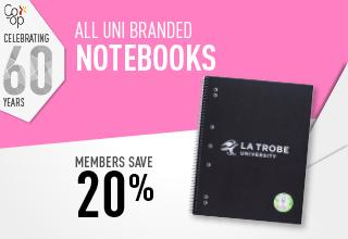 Uni Branded Notebooks