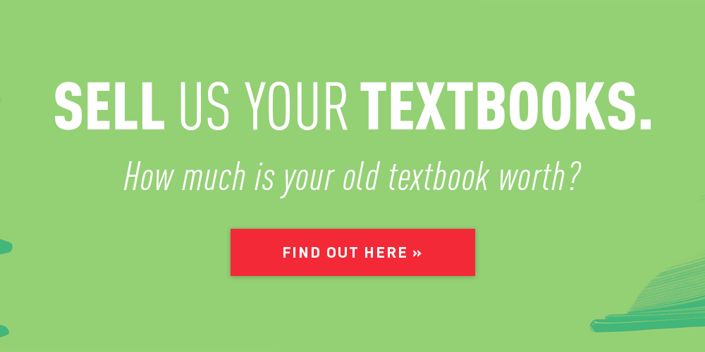 Sell us your textbooks