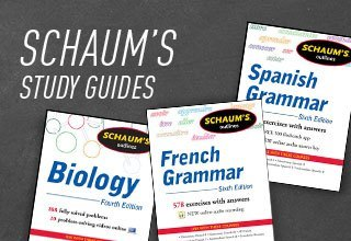 Schaums Study Guides