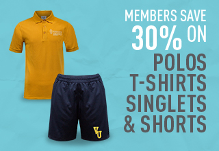 Members save 30% on selected uni-branded Apparel